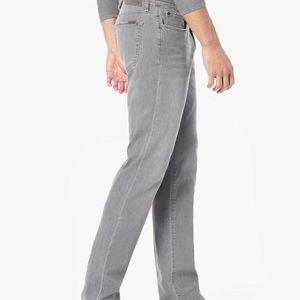 Joes Braxton straight and narrow gray jeans
